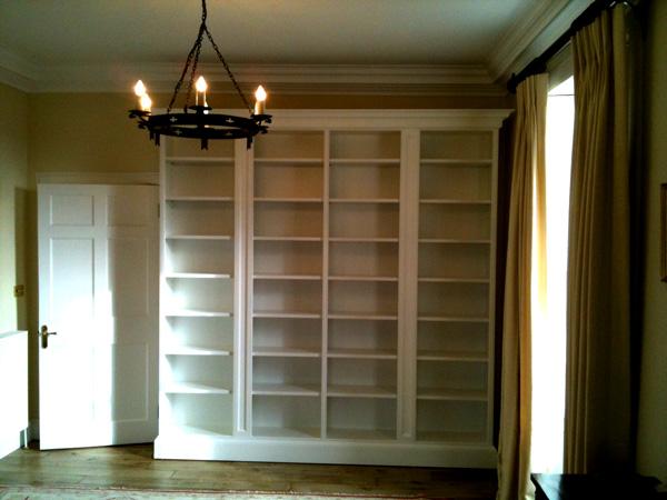 Bookcases And Sitting Room Furniture Bespoke Handmade Edinburgh Scotland Uk
