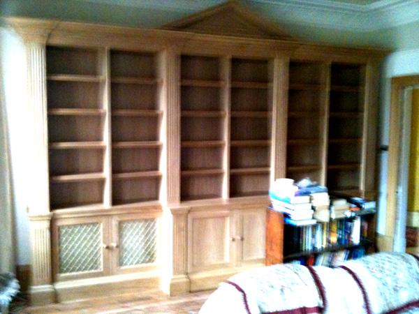 Bespoke Bookcases A4